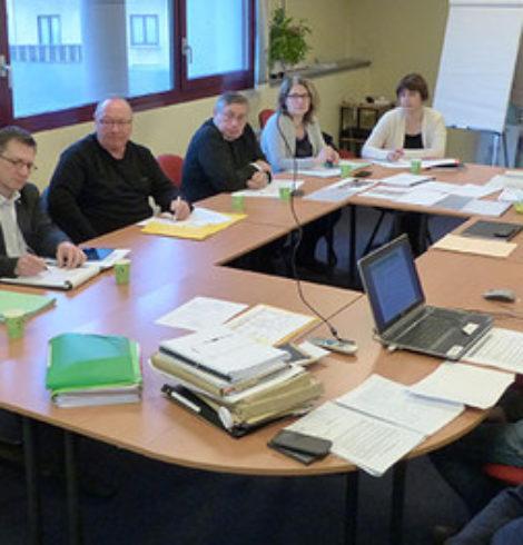 réunion commission appel d'offre maison des jeunes pulnoy